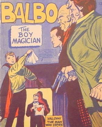 Boy Magician (Fawcett)