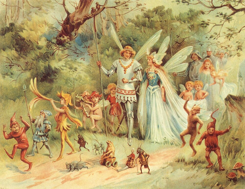 Faerie King and Queen
