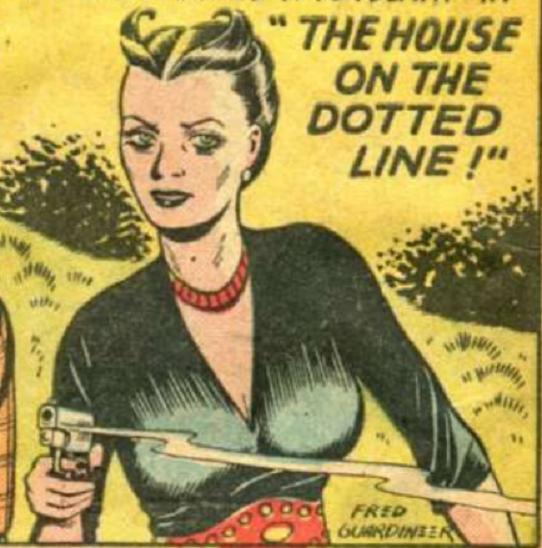 Lady Satan (Magazine Enterprises)