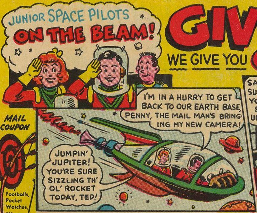 Junior Space Pilots