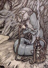 The Caterpillar, illustrated by Arthur Rackham