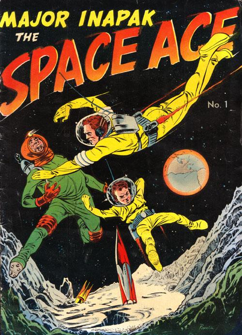 Space Ace (Magazine Enterprises 3)