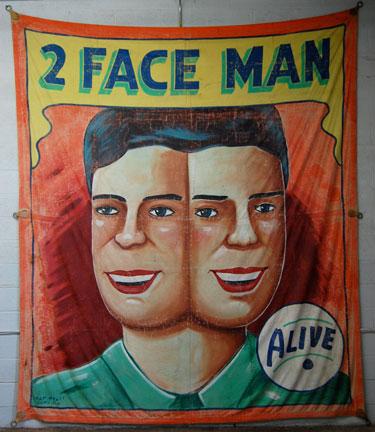 2 Face Man
