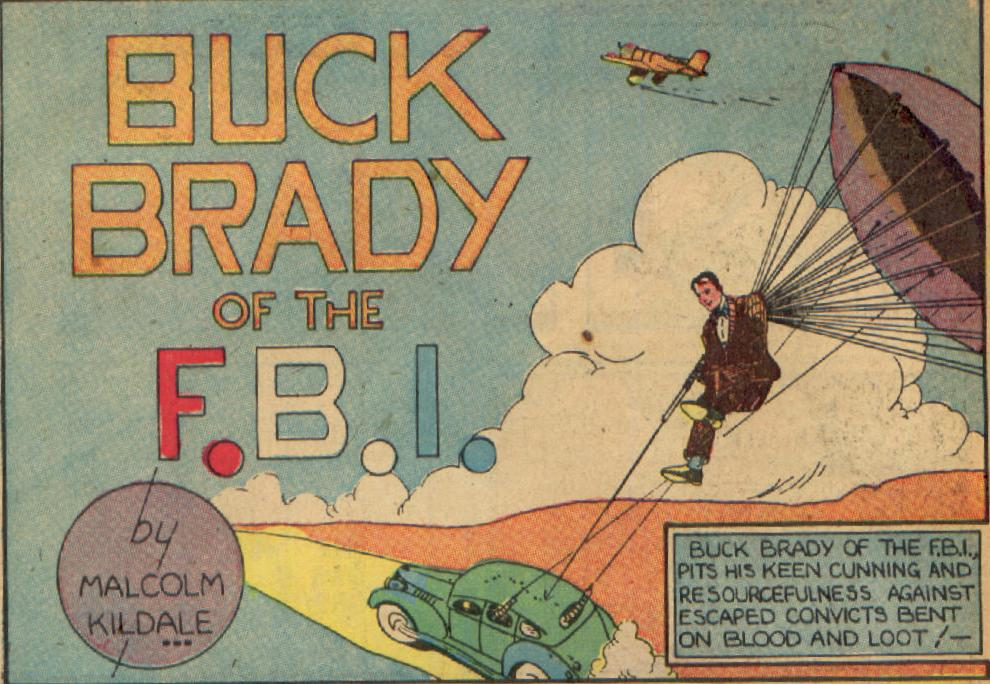 Buck Brady of the FBI