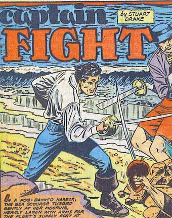 Captain Fight (Fiction House 2)