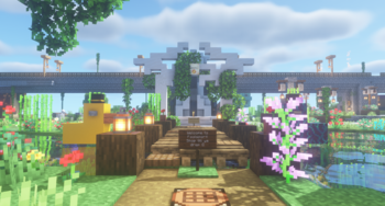 The entrance to Foolsport, as seen from the nether portal.