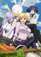 Peach Boy Riverside TV Anime Key Visual 2