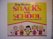Peanuts dolly madison snacks for school