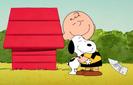 Charlie brown and snoopy hugs