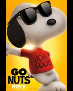 Joe cool poster