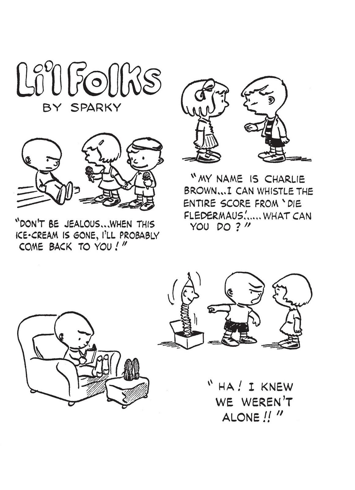 Li'l Folks, September 20 comic strips   Peanuts Wiki   Fandom