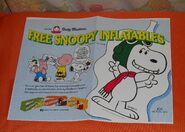 Dolly madison snoopy inflatables ad