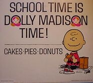 Dolly madison peanuts school time