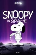 Snoopy in Space Poster2