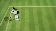 Snoopyplaystennis