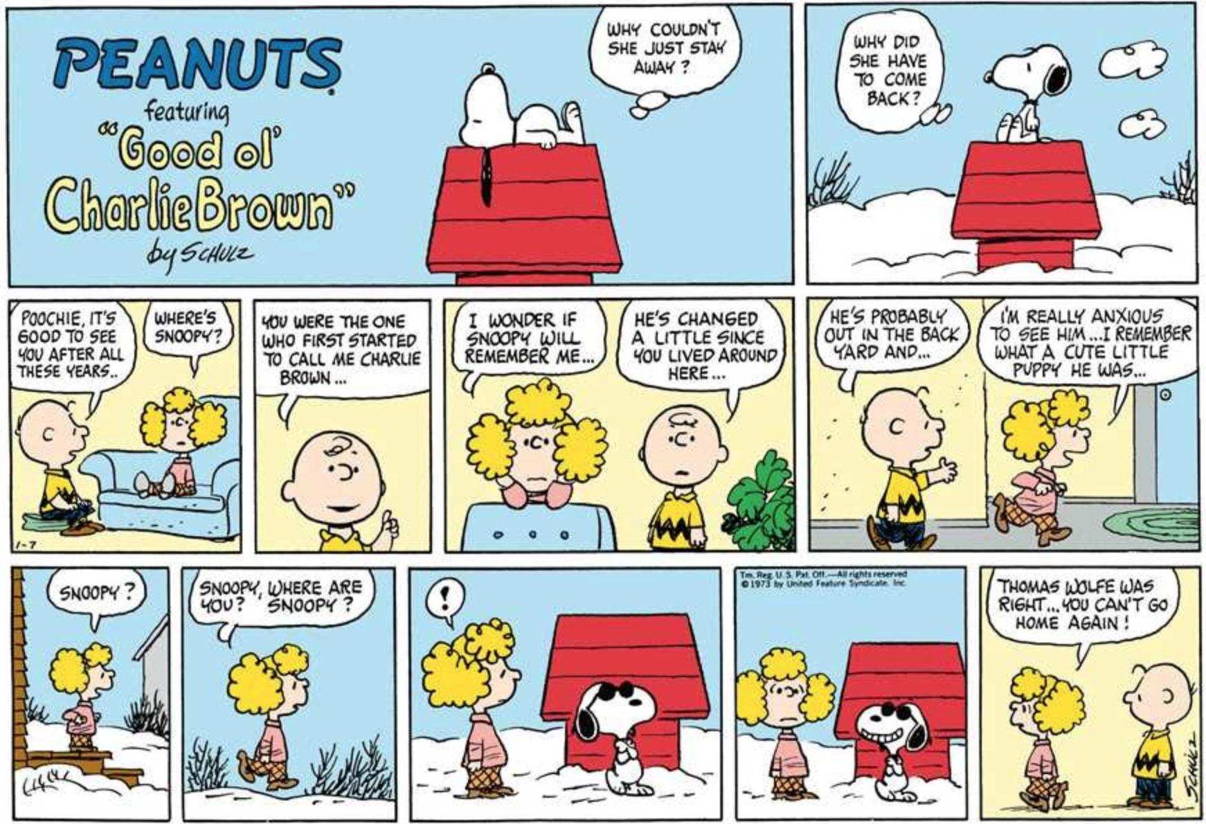 January 20 comic strips   Peanuts Wiki   Fandom