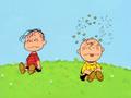 Spook Charlie Brown and Linus (2)