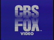 CBS FOX Video Logo 1983