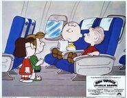 Bon Voyage, Charlie Brown lobbycard (1)