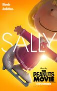 The Peanuts Movie Sally Brown poster