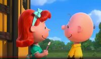20th Century Fox Blue Sky The Peanuts Movie Charlie Brown and the Little Red Haired Girl 643643