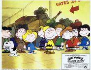 Bon Voyage, Charlie Brown lobbycard