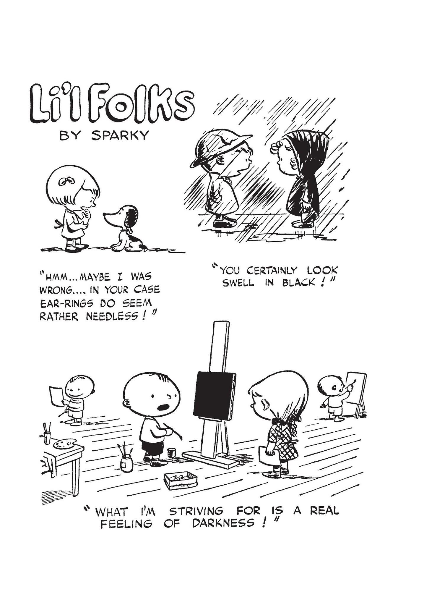 Li'l Folks, November 20 comic strips   Peanuts Wiki   Fandom
