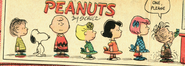 Patty lucy sally charlie brown snoopy linus