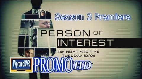 Person Of Interest Season 3 Promo 1 Teaser (HD ) Season Premiere Sept 24