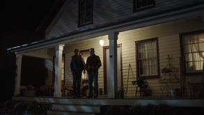 3x12 - Lassiter outside Finch's home