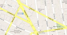 Flatbush-map