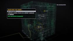 POI 0512 MPOV Searching for Admin Wi-Fi Network Established
