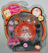 Peekaboo Petites Halloween Ghost Doll