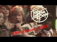 Top of the Pops Chart Rundown - 13th January 1983 (David Jensen & John Peel)