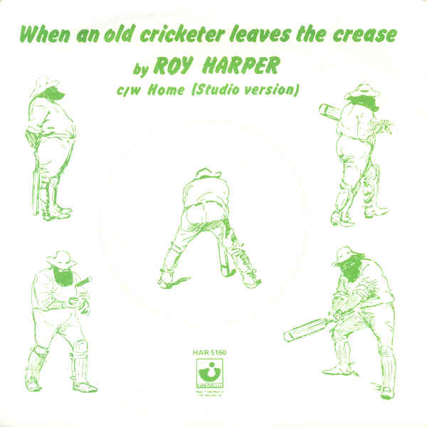 When An Old Cricketer Leaves The Crease
