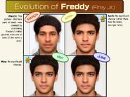 FREDDY Portrait Timeline
