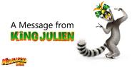 Message from King Julien