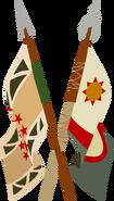 Exiled-iversary logo isolated