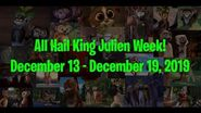 All Hail King Julien Week!