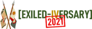Exiled-iversary logo horizontal