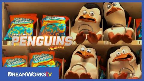 """Vending Machine Fail"" Clip PENGUINS OF MADAGASCAR"