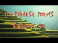 Ame Reads- 170 Chinese Poems Reading -1