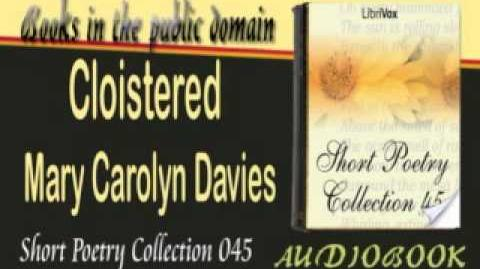 Cloistered_Mary_Carolyn_Davies_Audiobook_Short_Poetry