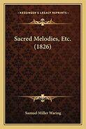 Waring sacred melodies