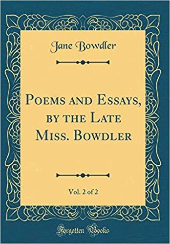 Jane Bowdler