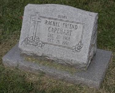 Rachel Friend Capehart