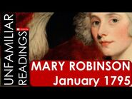 Mary Robinson 'January 1795' poem reading - 18th Century Poetry Reading Aloud - Audio & Text