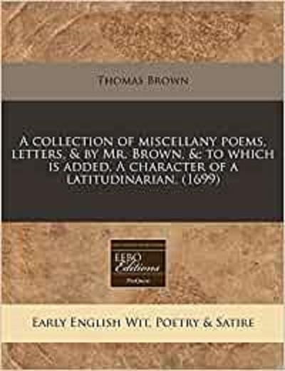 Tom Brown (poet)