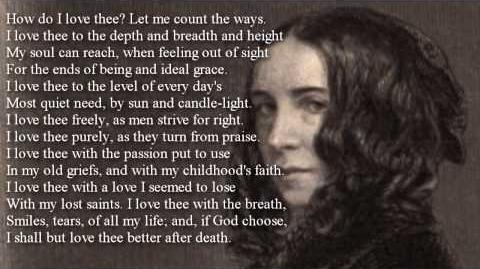 How do I love thee? / E.B. Browning