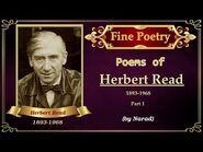 Fine Poetry - Poems of Herbert Read - Part 1